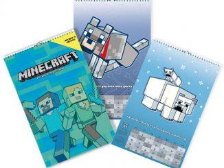 2018 Minecraft Poster Calendar
