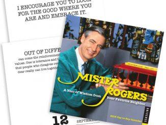 2018 Mister Rogers Desktop Calendar