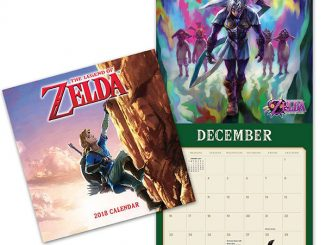 2018 The Legend of Zelda Wall Calendar