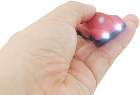 2-in-1 Mini Racing Car LED Light