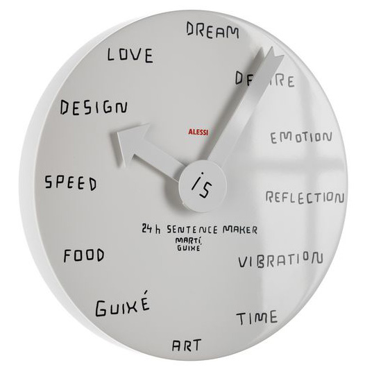 24 Hour Clock Sentence Maker
