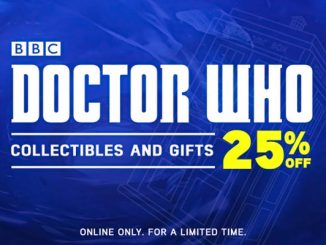 25% Off Doctor Who at ThinkGeek