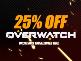 25% Overwatch Sale at ThinkGeek