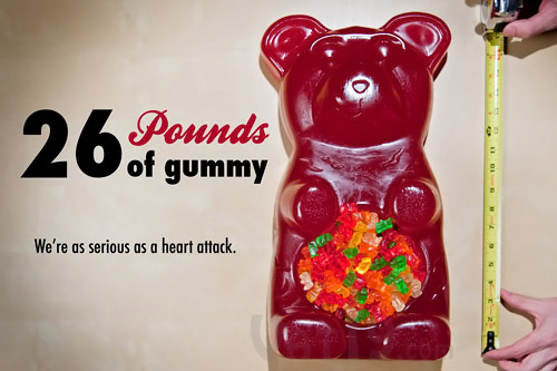 26 Pound Party Gummy Bear