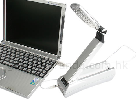 28-LED Foldable USB Desktop Lamp