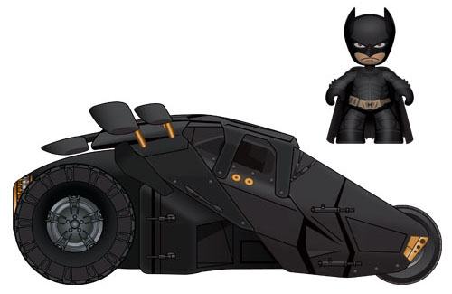 2in Batman with Tumbler