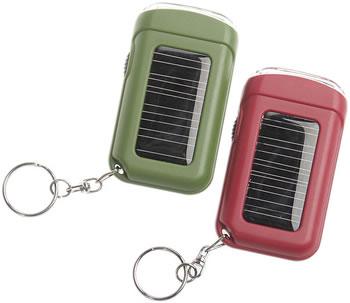 2-LED Solar Keyring