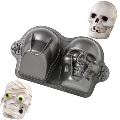3 D Skull Cake Pan