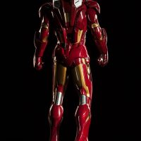 3-Foot-Tall Iron Man Mark VII Legendary Scale Figure Rear View