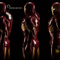 3-Foot-Tall Iron Man Mark VII Legendary Scale Figure Removable Ammo Packs