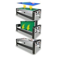 3-in-1 Swivel Game Table