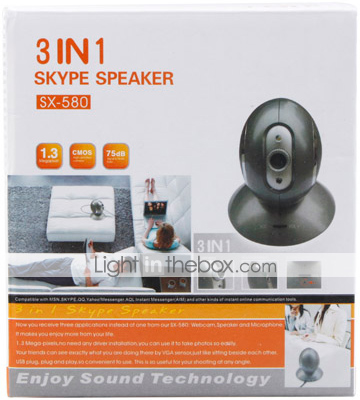 3-in-1 Skype Speaker in Box