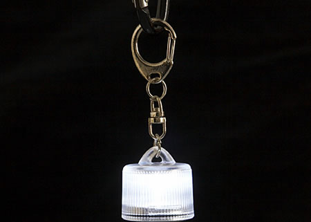3-Light Mode LED Keychain