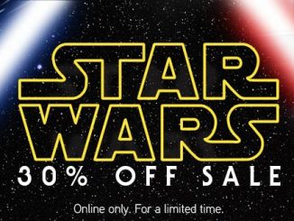 30% Off Star Wars Sale