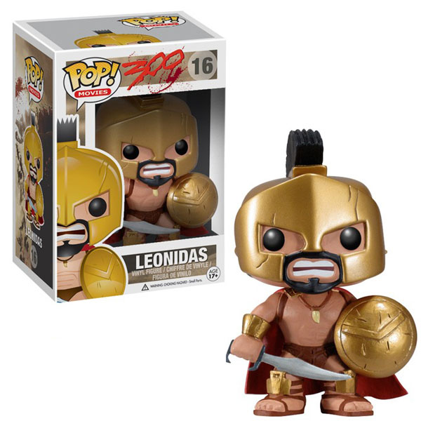 300 King Leonidas Pop Vinyl Figure