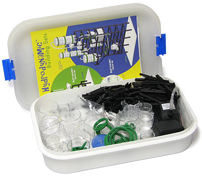 300 piece hydrodynamic building kit set