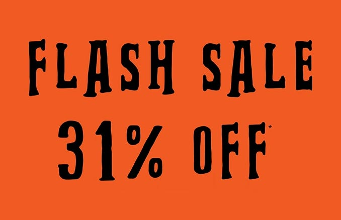 31% Off Flash Sale at Hot Topic