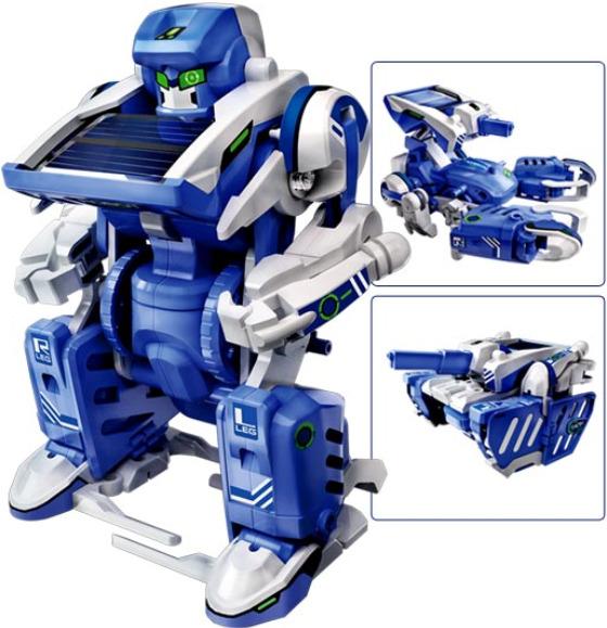 3-in-1 Solar Robots