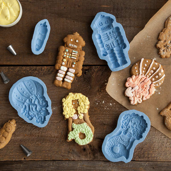 3D Cookie Monsters Mold
