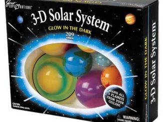 3D Glow In The Dark Solar System