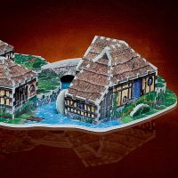 3D Lord of the Rings Puzzles
