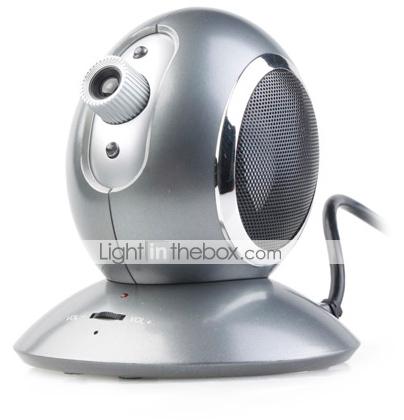 3-in-1 Skype Webcam, Speaker and Microphone