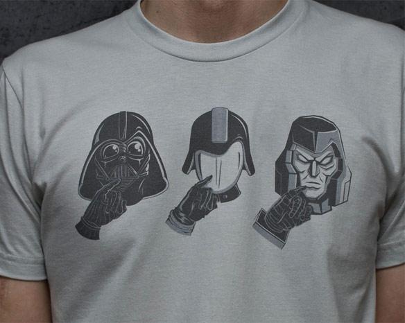 3x Evil Shirt