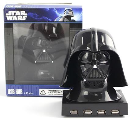 4 Port Darth Vader USB Hub