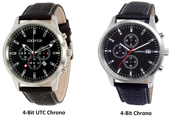 Cadence 4-Bit Chrono Watches