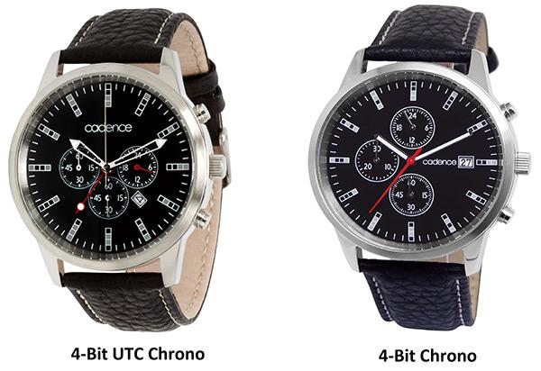 Cadence 4-Bit Chrono Watches