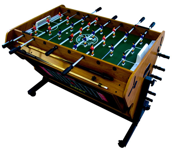 4 in 1 rotational game table for 10 games in 1 table