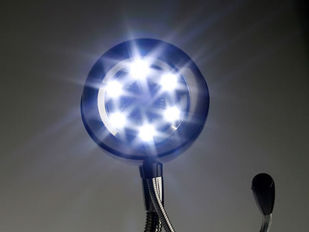 Webcam with Fan and LED Light