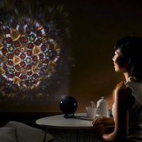 Kaleidoscope Dome Projector