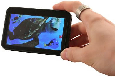 4-inch Widescreen Multimedia Player