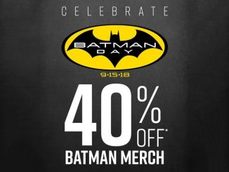 40% Off Batman Merchandise at Hot Topic.
