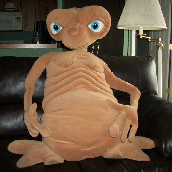 42 Inch ET Stuffed Doll