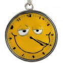 4:20 Smiley Face Clock Necklace