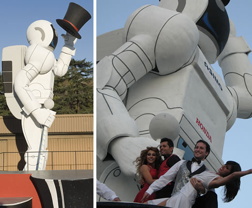 49 Foot Tall ASIMO Robot