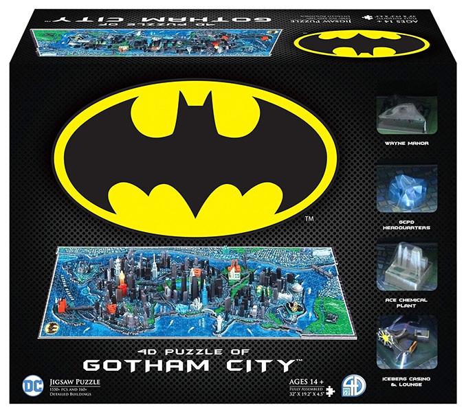 4D Cityscape 4D Batman Gotham City Puzzle