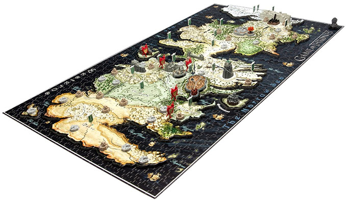 4D Cityscape 4D Game of Thrones Westeros Puzzle