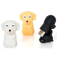 4GB USB Dog Flash Drive