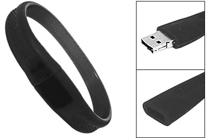 4GB USB Flash Memory Wristband