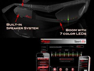 4iiii Innovations Sportiiiis, World's1st Heads Up Display For Athletes