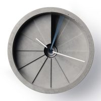 4th Dimension Concrete Clock