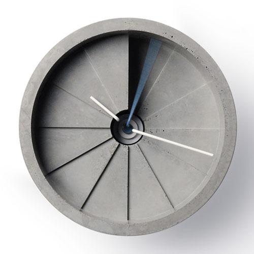 4th Dimension Concrete Clock