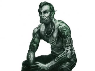 $5 Abe Lincoln Tough Guy T-Shirt