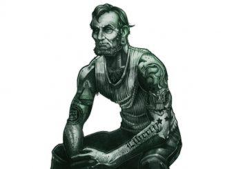 $5 Abe Lincoln Tough Guy T-Shirt