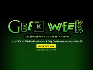 50% Off ThinkGeek Geek Week Sale
