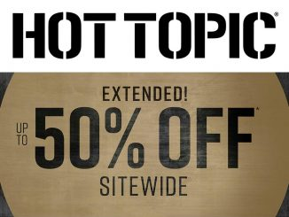 50 Percent Off Sale HotTopic