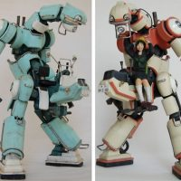 Chubu 01 Mecha Robots